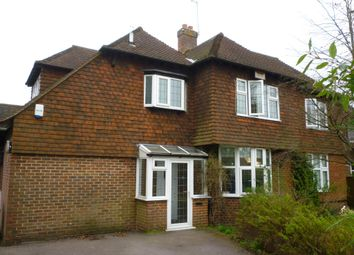 Thumbnail 3 bed maisonette to rent in Moat Road, East Grinstead, West Sussex