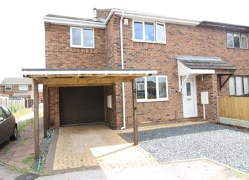 Thumbnail 3 bed semi-detached house for sale in Ribblesdale, Worksop