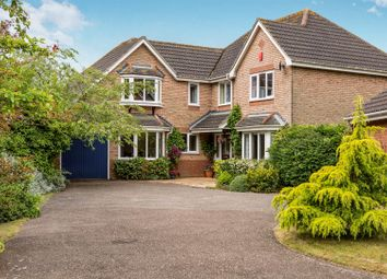 Thumbnail 5 bed detached house for sale in Wilkinson Way, Melton, Woodbridge