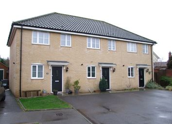 Thumbnail 2 bed end terrace house for sale in Heron Road, Saxmundham