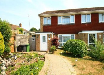 Thumbnail 3 bed end terrace house for sale in Manston Way, Hastings, East Sussex