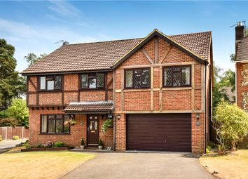 Thumbnail 5 bed detached house for sale in Butler Road, Bagshot, Surrey