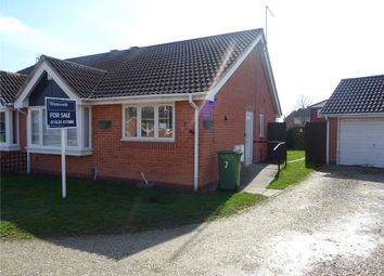 Thumbnail 2 bedroom semi-detached bungalow for sale in Clayton Close, Newark