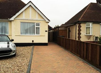 Thumbnail 2 bed bungalow to rent in Chantry Avenue, Kempston, Bedford
