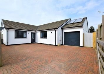 Thumbnail 4 bed detached bungalow for sale in Rosudgeon, Penzance, Cornwall