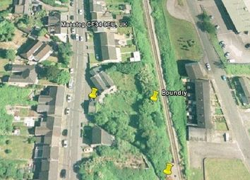 Thumbnail  Land for sale in Llwydarth Road, Cwmfelin, Maesteg