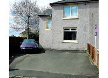 Thumbnail 2 bed semi-detached house for sale in Hill Place, Shotts