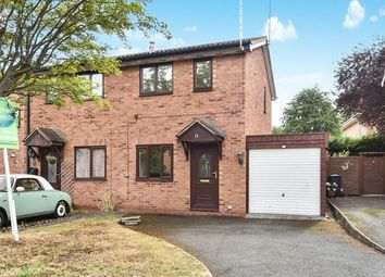 Thumbnail 2 bed semi-detached house for sale in The Cloisters, Burton-On-Trent