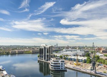 Thumbnail 3 bed flat for sale in Turnberry Quay, London