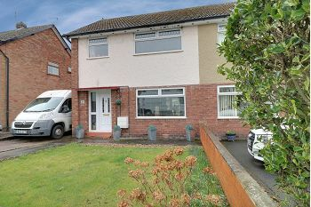 Thumbnail 3 bed semi-detached house for sale in Queens Drive, Sandbach