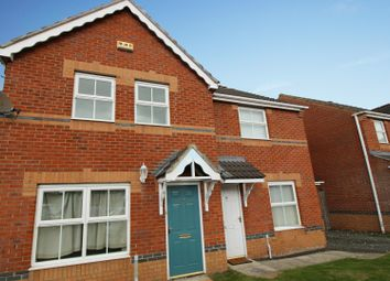 Thumbnail 3 bed semi-detached house for sale in Steading Court, Consett, Durham