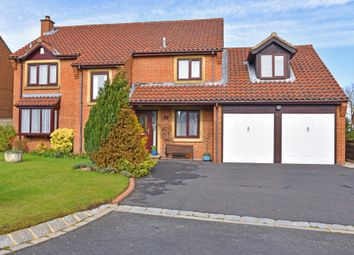Thumbnail 4 bed detached house for sale in Hazel Close, Burn Bridge, Harrogate