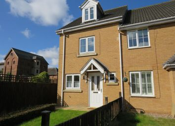 Thumbnail 3 bed end terrace house for sale in Wheat Grove, Sleaford