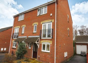 Thumbnail 4 bedroom terraced house for sale in David Way, Hamworthy, Poole