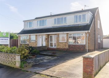 Thumbnail 4 bed semi-detached bungalow for sale in Louville Avenue, Withernsea