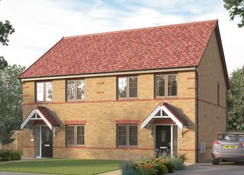 "Thumbnail 3 bed semi-detached house for sale in ""The Lorton"" at Ward Road, Clipstone Village, Mansfield"
