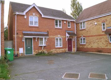 Thumbnail 2 bed semi-detached house to rent in The Poplars, Radford