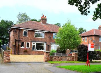 Thumbnail 3 bed semi-detached house for sale in Bridle Road, Woodford, Stockport, Greater Manchester
