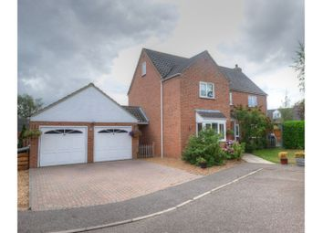 Thumbnail 5 bed detached house for sale in Marshall Howard Close, Cawston