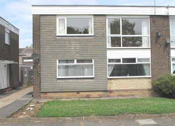 Thumbnail 2 bed flat to rent in Harwood Close, Whitelea Grange, Cramlington
