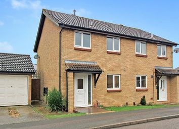 Thumbnail 3 bedroom semi-detached house for sale in Balland Field, Willingham, Cambridge