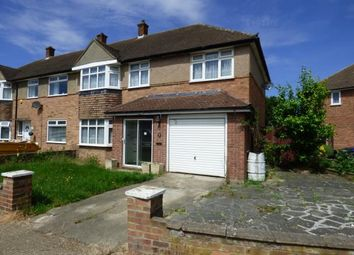 Thumbnail 4 bed end terrace house for sale in Heron Way, Cranham, Upminster