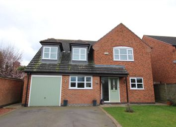 Thumbnail 5 bed detached house for sale in Mays Farm Drive, Stoney Stanton, Leicester
