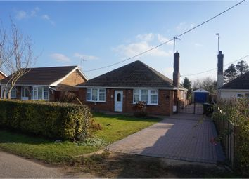 Thumbnail 2 bed detached bungalow for sale in Hungate Road, Emneth, Wisbech
