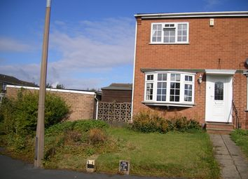 Thumbnail 2 bed town house to rent in Nairn Close, Arnold, Nottingham