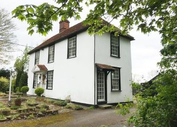 Thumbnail 3 bed detached house for sale in The Mill Lodge, 105 High Garrett, Braintree, Essex