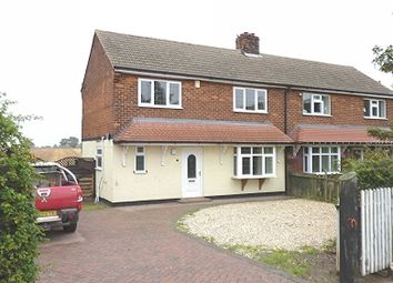 Thumbnail 3 bed semi-detached house to rent in Riby, Grimsby
