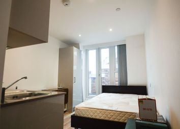 Thumbnail Studio to rent in Luminaire Apartments, Kilburn High Road, London