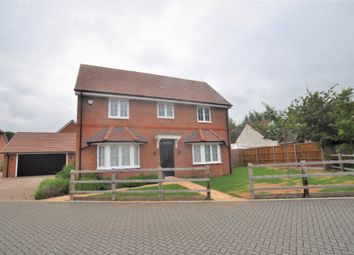 Thumbnail 4 bed detached house to rent in Turfmead, Hitchin