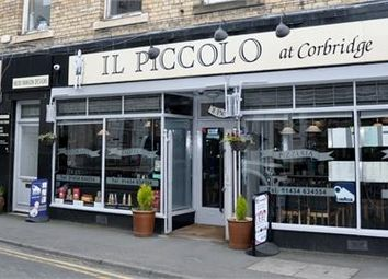 Thumbnail Commercial property for sale in Il Piccolo, St Helens Street, Corbridge