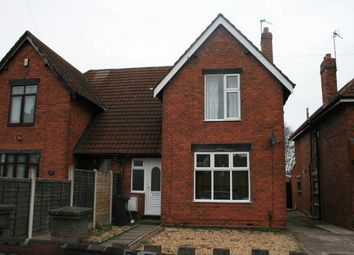 Thumbnail 3 bed semi-detached house to rent in Lincoln Road, Chuckery, Walsall