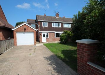 Thumbnail 4 bed semi-detached house for sale in New Road, Acle, Norwich