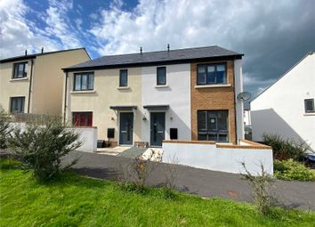 Thumbnail 3 bed semi-detached house for sale in Broom Park, Okehampton