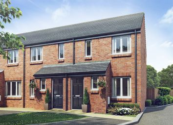 "Thumbnail 2 bed terraced house for sale in ""The Alnwick "" at Coton Park Drive, Rugby"