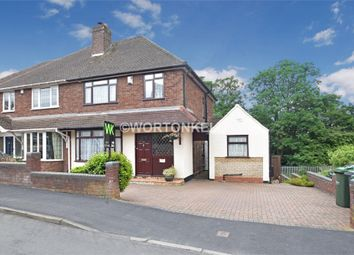 Thumbnail 3 bed semi-detached house for sale in High Haden Road, Cradley Heath, West Midlands