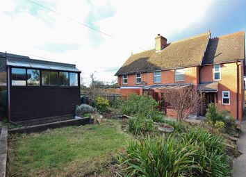 Thumbnail 3 bed semi-detached house for sale in Old School Lane, East Challow, Wantage