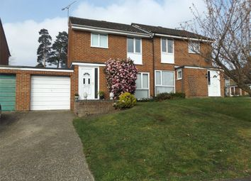 Thumbnail 3 bed semi-detached house to rent in Inglewood Avenue, Camberley, Surrey