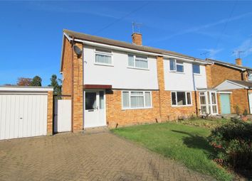 Thumbnail 3 bed semi-detached house for sale in Jordans Close, Stanwell, Middlesex