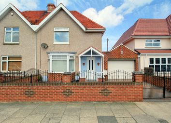 Thumbnail 3 bed semi-detached house for sale in Atkinson Road, Fulwell, Sunderland