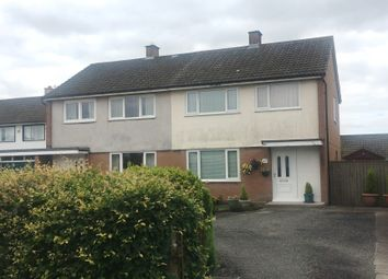 Thumbnail 3 bed semi-detached house for sale in 17 Netherby Road, Longtown, Cumbria