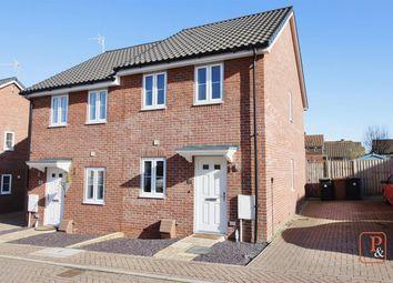 2 bed semi-detached house for sale in Popular Road, Great Blakenham, Ipswich IP6