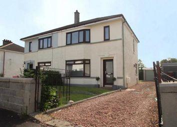 Thumbnail 3 bed semi-detached house for sale in Bathgo Avenue, Paisley, Renfrewshire