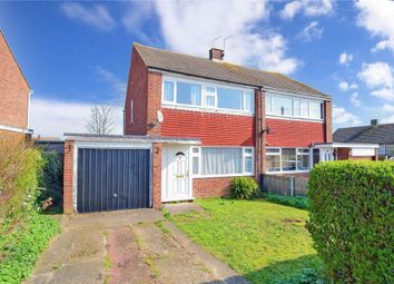 Thumbnail 3 bed semi-detached house for sale in Rose Gardens, Eythorne, Dover, Kent
