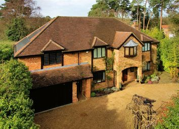 Thumbnail 6 bed detached house for sale in Woodham Waye, Woking