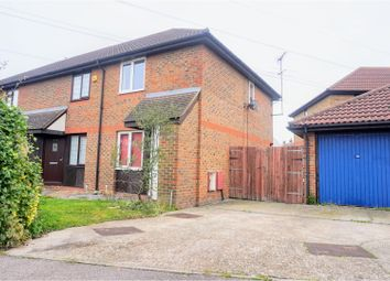Thumbnail 2 bedroom end terrace house for sale in Morgan Drive, Greenhithe
