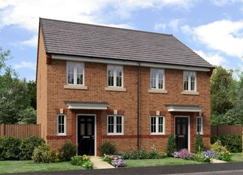 "Thumbnail 2 bed semi-detached house for sale in ""The Burroughs"" at Weldon Road, Cramlington"